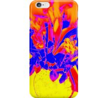 Flower - Yellow, purple and red iPhone Case/Skin