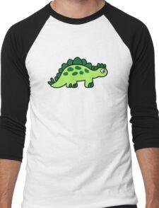 Comic dinosaur Men's Baseball ¾ T-Shirt