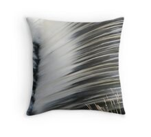 Rushing... Throw Pillow