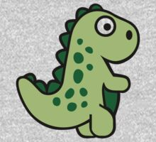 Comic dinosaur Kids Clothes