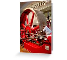 Dependence red-inay-carpenter .. Greeting Card