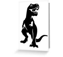 T-Rex dinosaur Greeting Card
