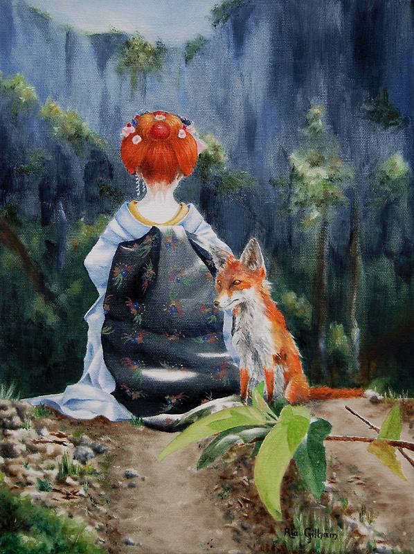 A Malapropos Kitsune by ria gilham