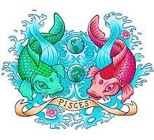 Koi Pisces Photographic Print