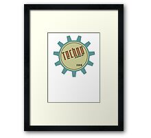 Techno since 1988 Framed Print