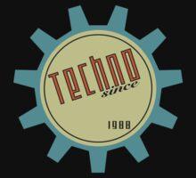 Techno since 1988 T-Shirt