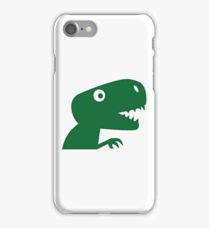Comic dinosaur iPhone Case/Skin