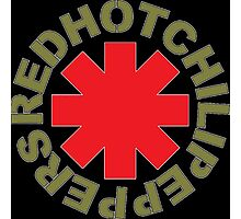 The Red Hot Chili peppers logo Photographic Print