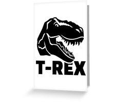 T-Rex Tyrannosaurus Rex Greeting Card