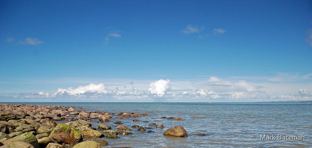 The sea in Devon by Mark Bateman