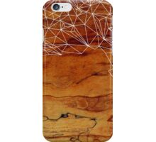 Wooden Wireframe iPhone Case/Skin