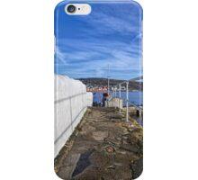 Behind The Cobb - Lyme Regis iPhone Case/Skin