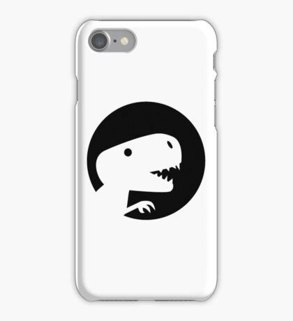 Dinosaur T-Rex moon iPhone Case/Skin