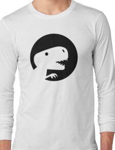 Dinosaur T-Rex moon Long Sleeve T-Shirt