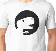 Dinosaur T-Rex moon Unisex T-Shirt
