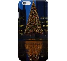 Christmas Tree Downtown Pittsburgh 2013 iPhone Case/Skin