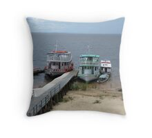SHIPS Throw Pillow