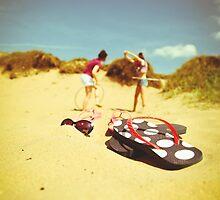 Fun At The Beach by Tony Wright
