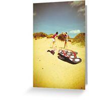 Fun At The Beach Greeting Card