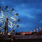 Ferris Wheel on Boardwalk by Lisa Williams