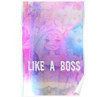 Queen Frostine Candy Land Like A Boss Poster