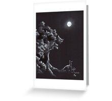 Night Creatures Greeting Card