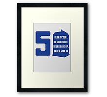 50th anniversary Framed Print