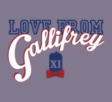Love from Gallifrey! Kids Clothes