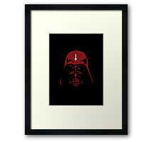 Darth Satan - Satanic Darth Vader Framed Print