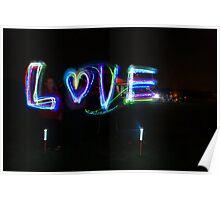 Love At Night Poster