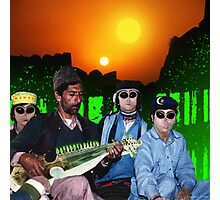 The Zeta Reticuli just love the Latest Pulsatronic Sitar Music of Earth Photographic Print
