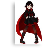 RWBY - Ruby Battle outfit Canvas Print