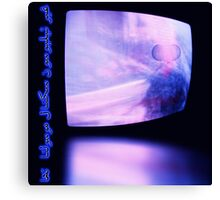 Alien Television Signal Received Canvas Print
