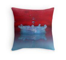 Rainbow Splash Throw Pillow