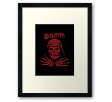 Misfits SITHFITS Crimson Ghost Framed Print