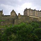 Edinburgh Castle III by Tom Gomez