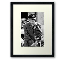 War Time Reflections Framed Print