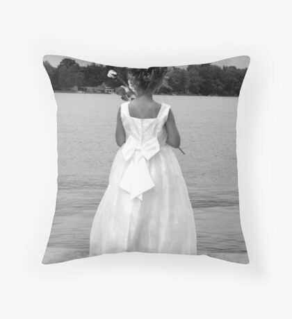 A Moment to Myself Throw Pillow