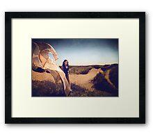 She Dreams In Colour Framed Print