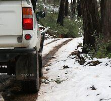 Driving in the Snow by Jordan N Clarke
