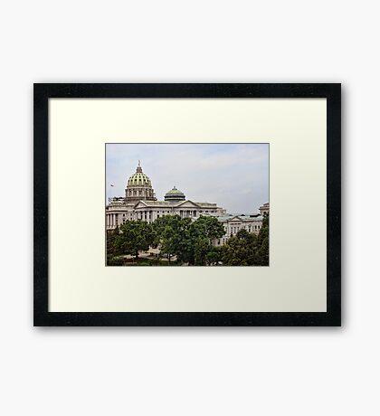 State capital Framed Print