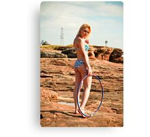 Hula Girl #2 Canvas Print