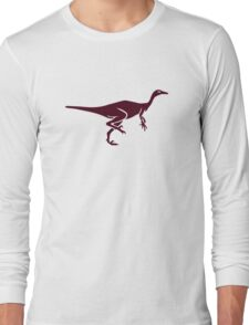 Trodon dinosaur Long Sleeve T-Shirt