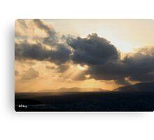 dingle skys Canvas Print