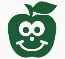 Apple smiling face One Piece - Long Sleeve