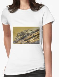 Big Wild Wolf Spider Womens Fitted T-Shirt