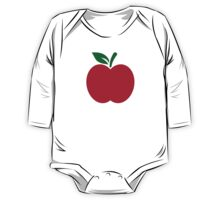 Red apple One Piece - Long Sleeve