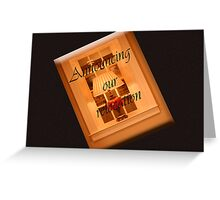 We are Moving Announcement Greeting Card