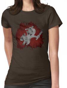 The Minish Brush Red Womens Fitted T-Shirt