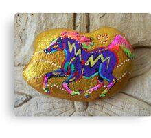 Rock 'N' Ponies - GOLD RUSH PONY Canvas Print